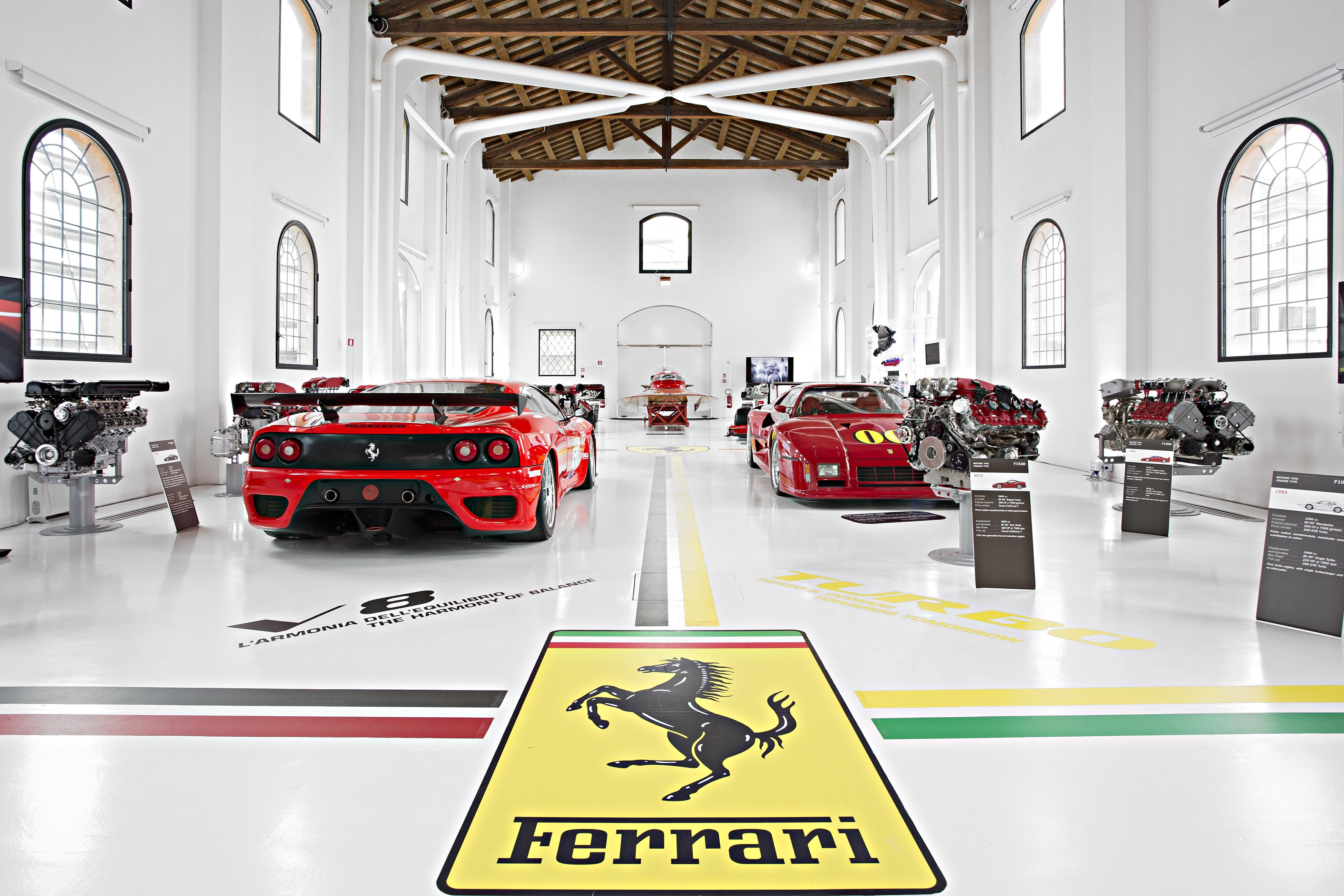 museo ferrari. Black Bedroom Furniture Sets. Home Design Ideas